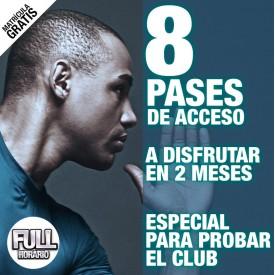 8 PASES DE ACCESO