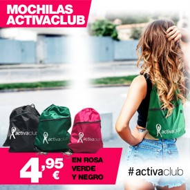 MOCHILA SACO ACTIVACLUB